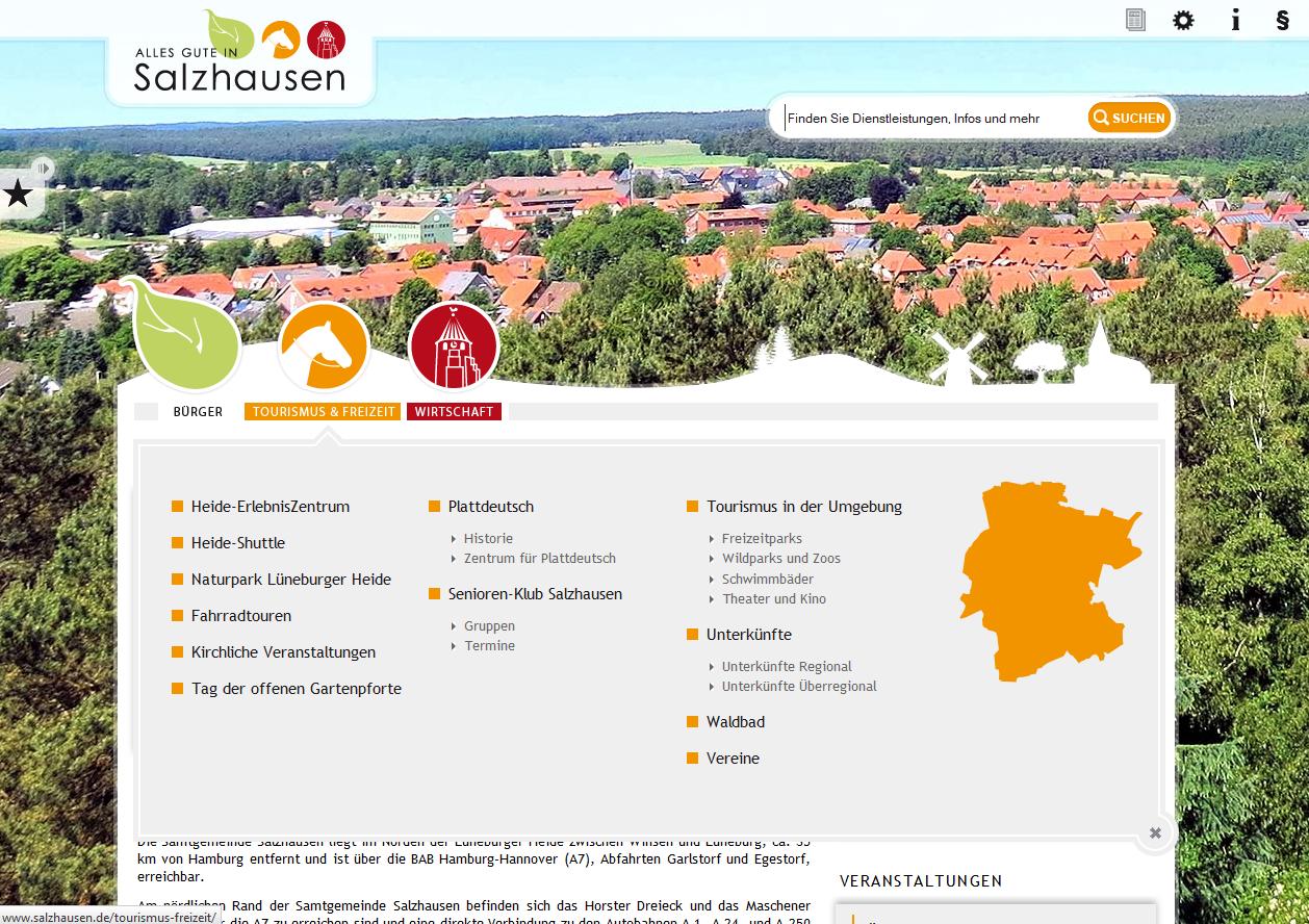 Screenshot Salzhausen